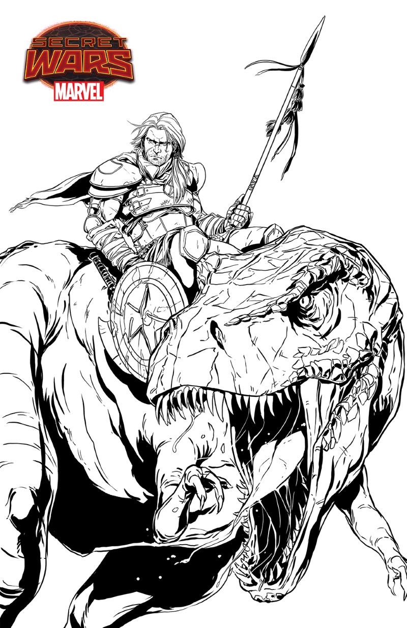 Planet_Hulk_Mark_Laming_Concept_Sketch PLANET HULK #1 brings wild destruction to the WARZONE