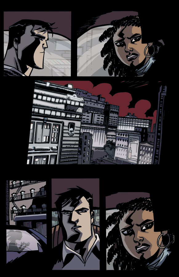 Powers_01_Preview3 Bendis and Oeming's Powers returns with all new series