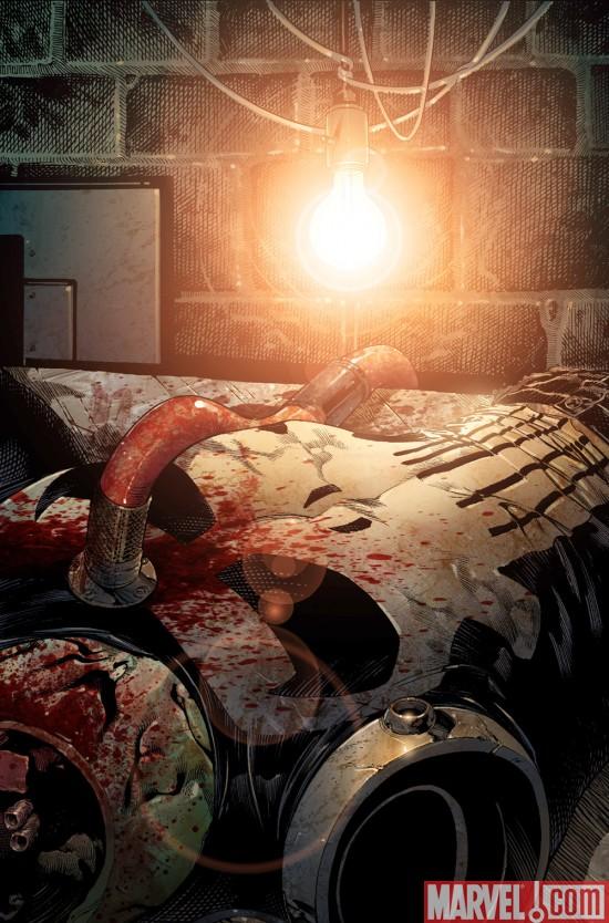 "PunisherAnnual_RestInPiecesVariant ""Punisher Rest In Pieces"" Continues In Punisher Annual #1"