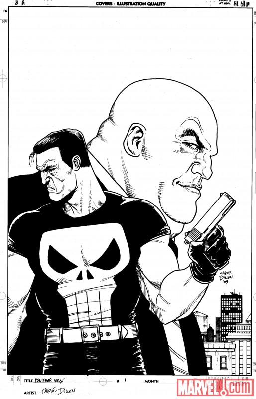 PunisherMax_01_SecondPrintingVariant PunisherMax #1 sells out and returns with new printing