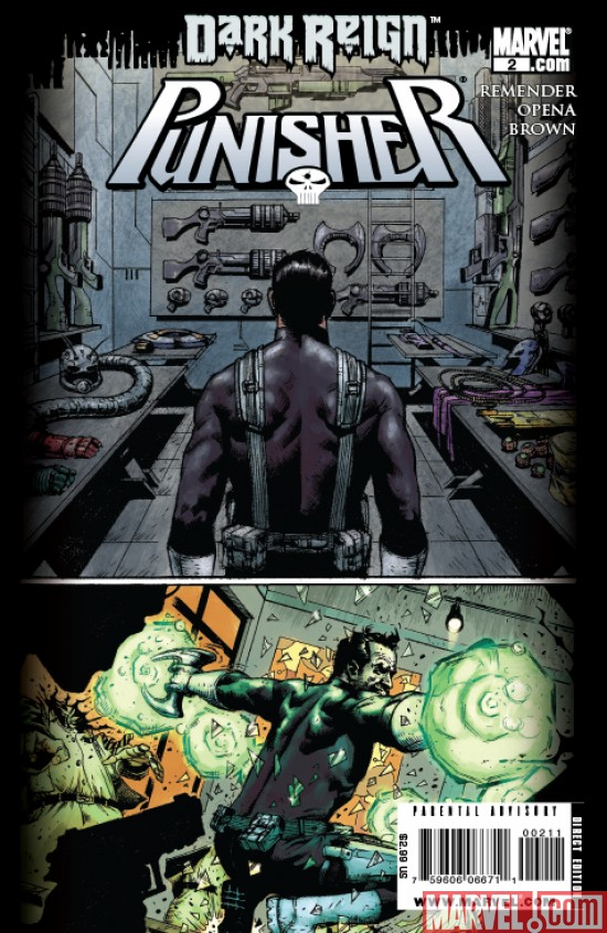 Punisher_02_SecondPrinting Dark Reign Tie-Ins Continue To Return With New Printings