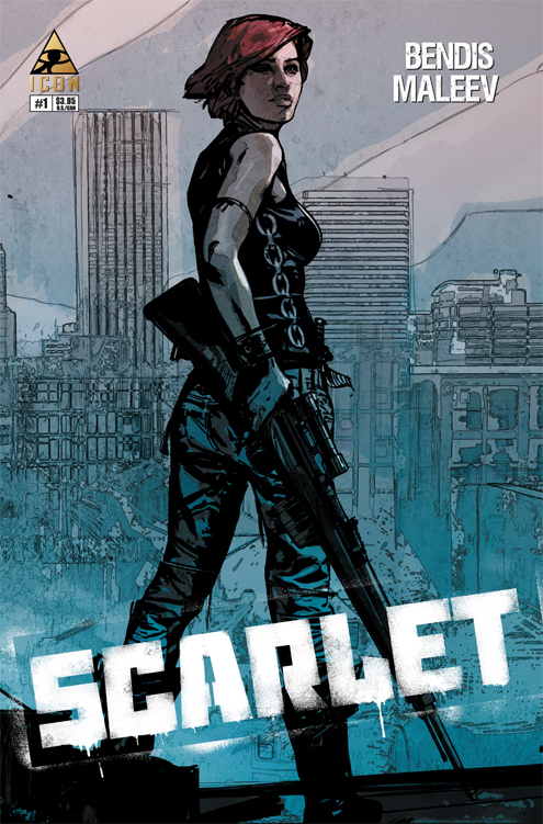 SCARLET_1_2nd SCARLET #1 sells out and returns with second printing