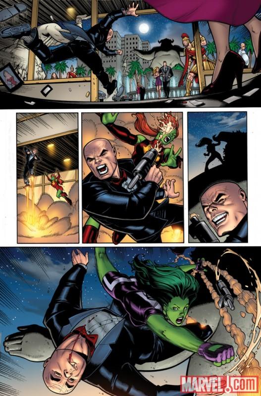 SHEHULKS_1_Preview3 Marvel Announces SHE-HULKS #1