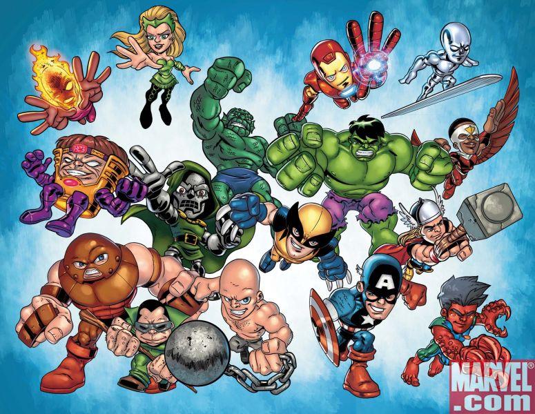 SHS_Poster Marvel Announces SUPER HERO SQUAD: HERO UP! One-Shot