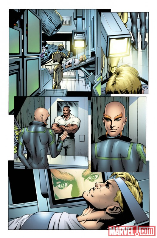 SRSUPERSOLD_3_Preview2 First Look At STEVE ROGERS: SUPER-SOLDIER #3