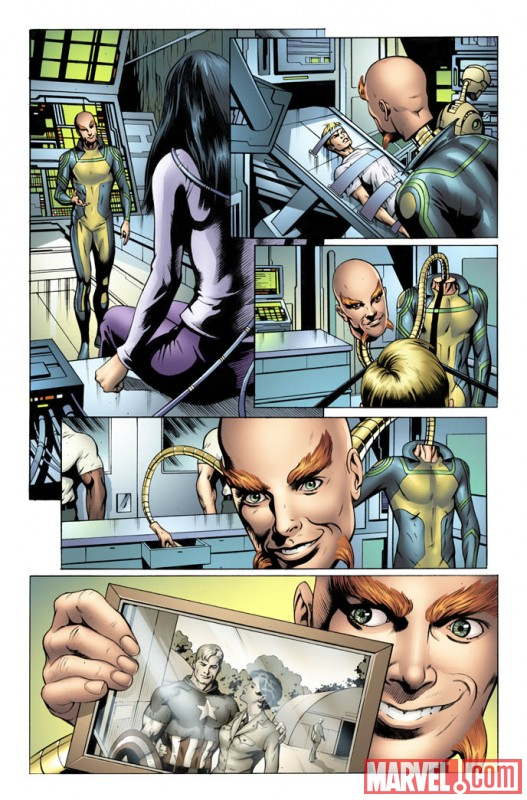 SRSUPERSOLD_3_Preview3 First Look At STEVE ROGERS: SUPER-SOLDIER #3
