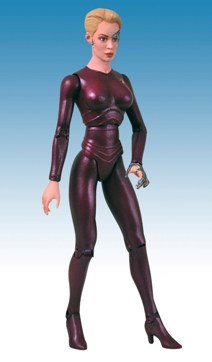 STBorgSeriesPXSevenOfNine Seven of Nine Action Figure Leads January-Solicited PREVIEWS Exclusives