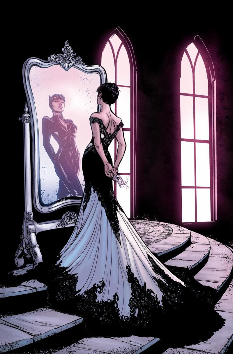 STL077244 BATMAN #44 gets new covers to celebrate Batman and Catwoman's wedding