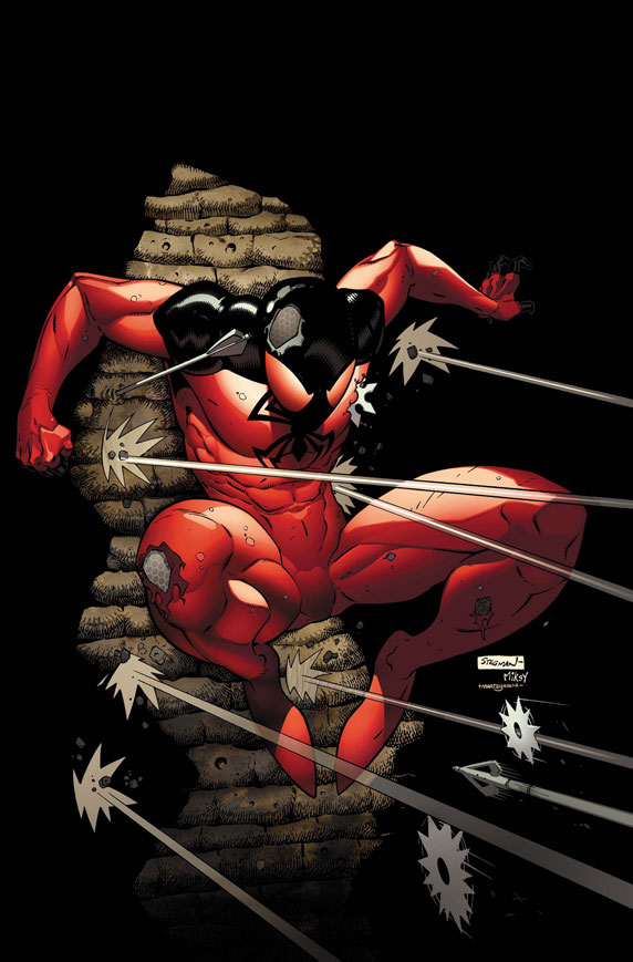 ScarletSpider_4_Cover First Look at SCARLET SPIDER #4