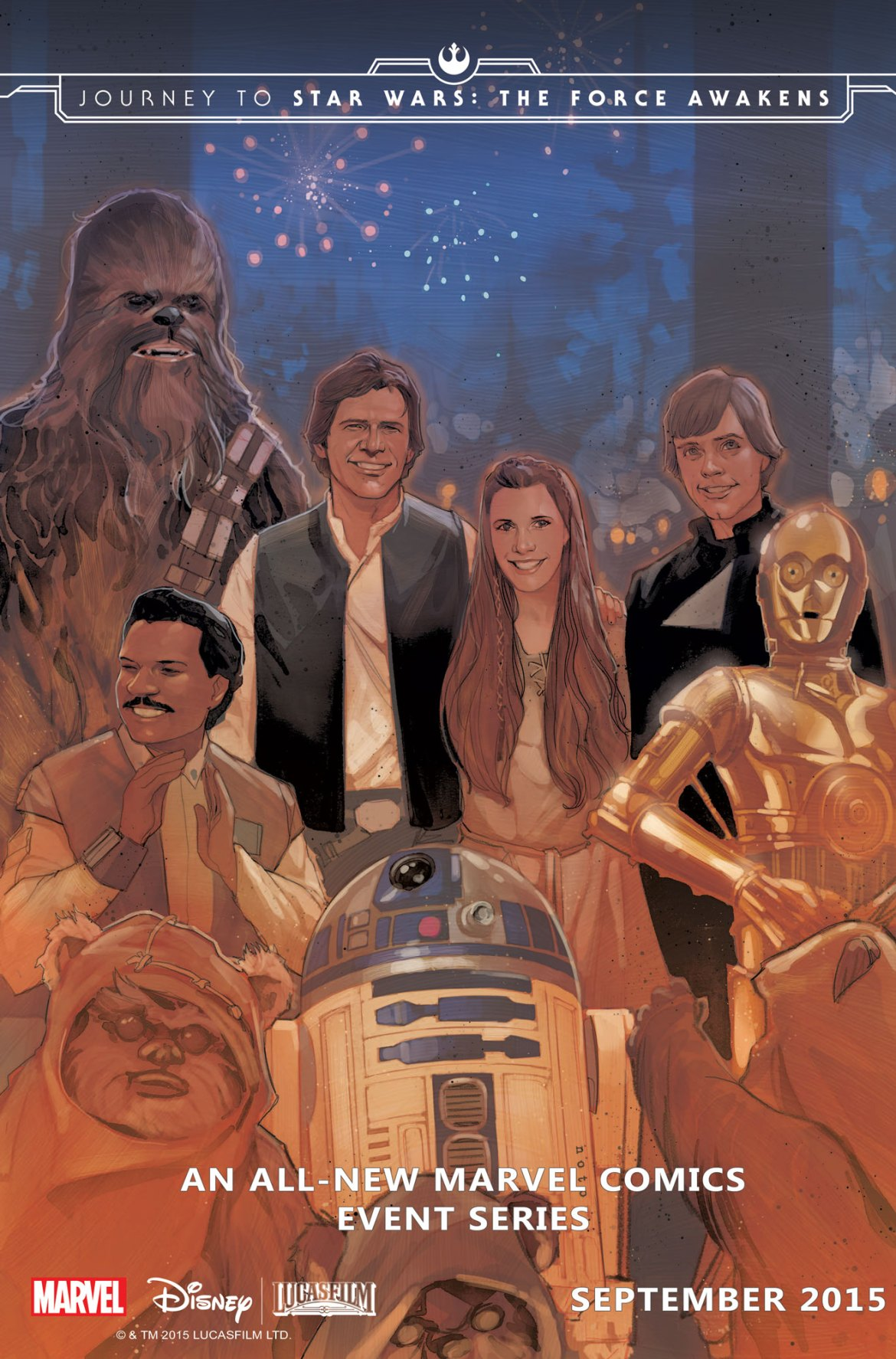 Shattered_Empire_1_Noto_Cover The Force awakens in SHATTERED EMPIRE
