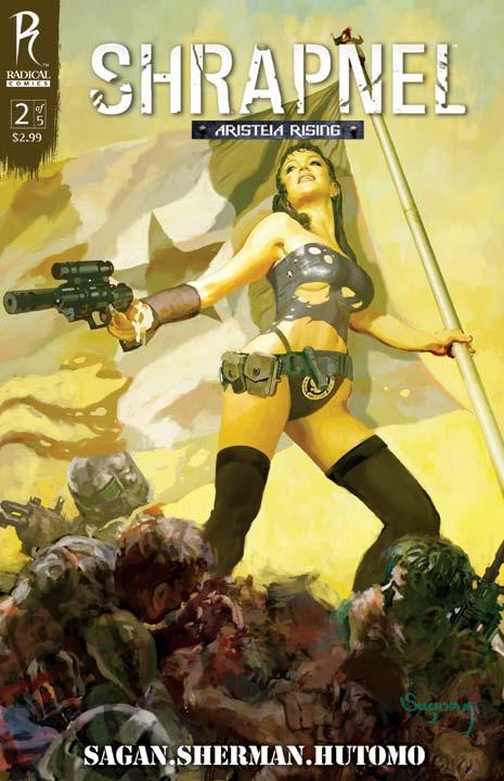 Shrapnel_2_CoverA_Suydam_lowres Arthur Suydam Covers Radical's Shrapnel: Aristeia Rising #2