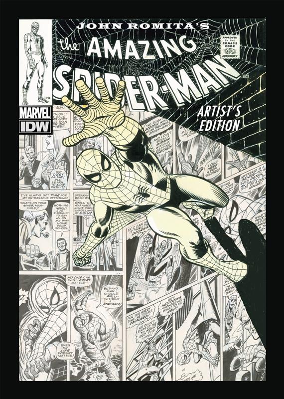 SpiderMan_Cover_small John Romita's THE AMAZING SPIDER-MAN: ARTIST'S EDITION announced