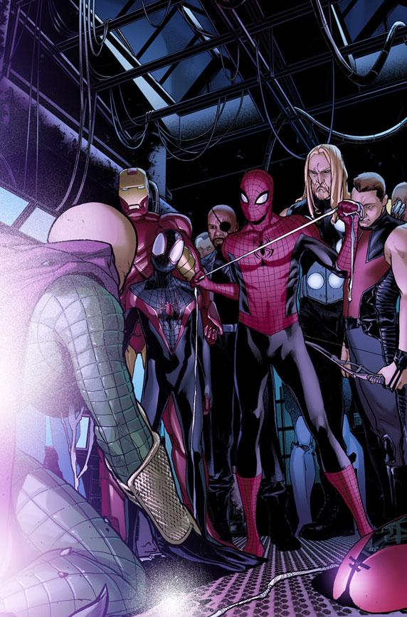 SpiderMen_5_Preview1 First Look at SPIDER-MEN #5