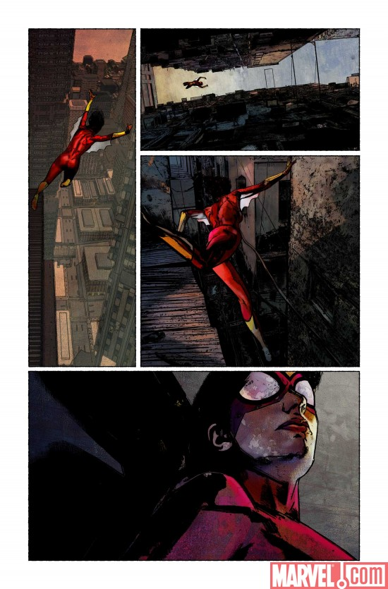 SpiderWoman_01_Preview7 Preview Spider-Woman #1
