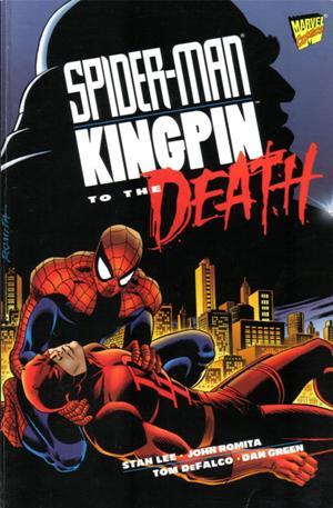 Spiderman_kingpin Suspended Animation: Spider-Man/Kingpin - To the Death