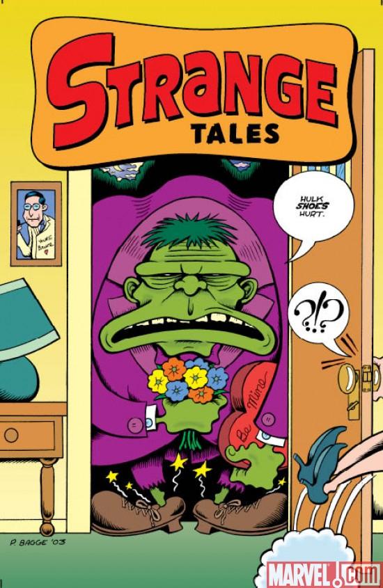 StrangeTales_02_GreenHulkCover Marvel Comics Unveils Covers To STRANGE TALES #2