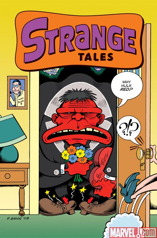 StrangeTales_02_VariantCover Preview The Second Issue Of Strange Tales