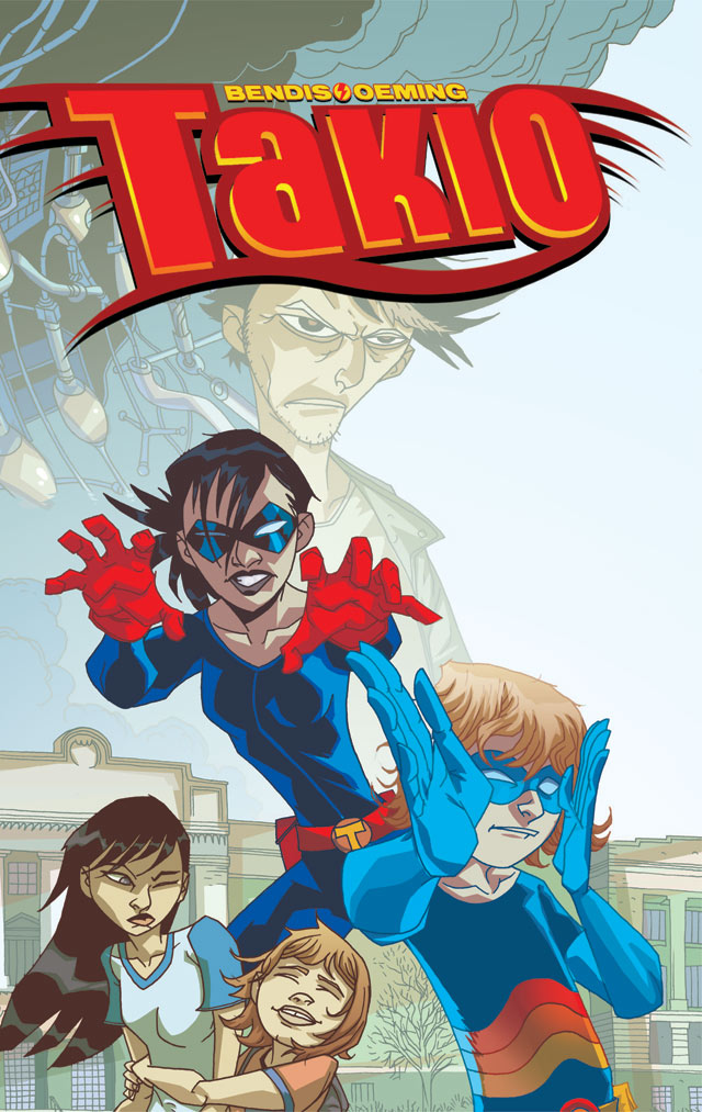 TAKIO_Cover New Look At Bendis and Oeming's TAKIO