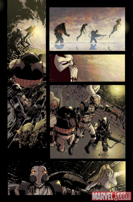 TBOLTS_148_PREVIEW4 Luke Cage enters Shadowland in THUNDERBOLTS #148