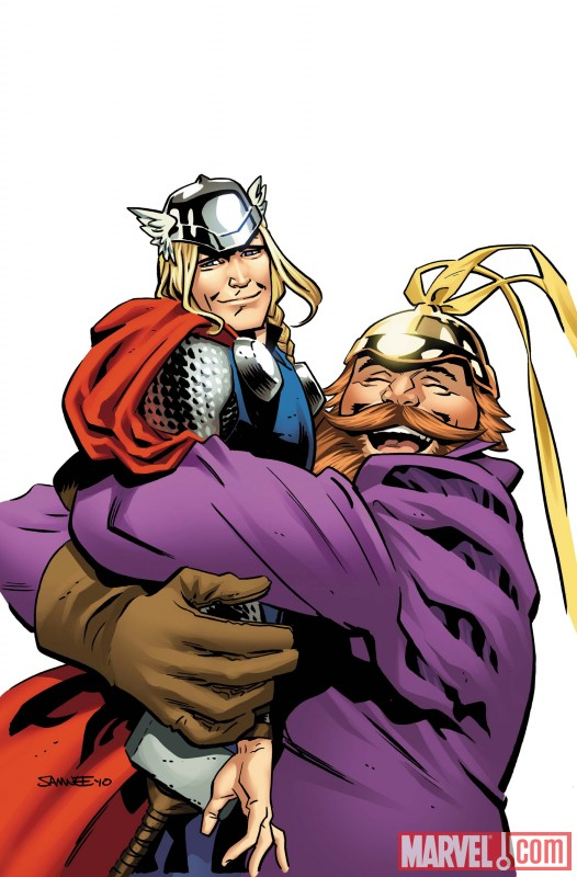 THORMA_4_COVER First Look At THOR: THE MIGHTY AVENGER #4