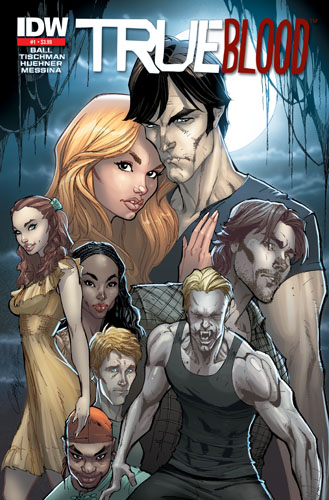 TRUEBLOOD01_2NPRINT_Campbell TRUE BLOOD #1 sells out, second printing available August 25th
