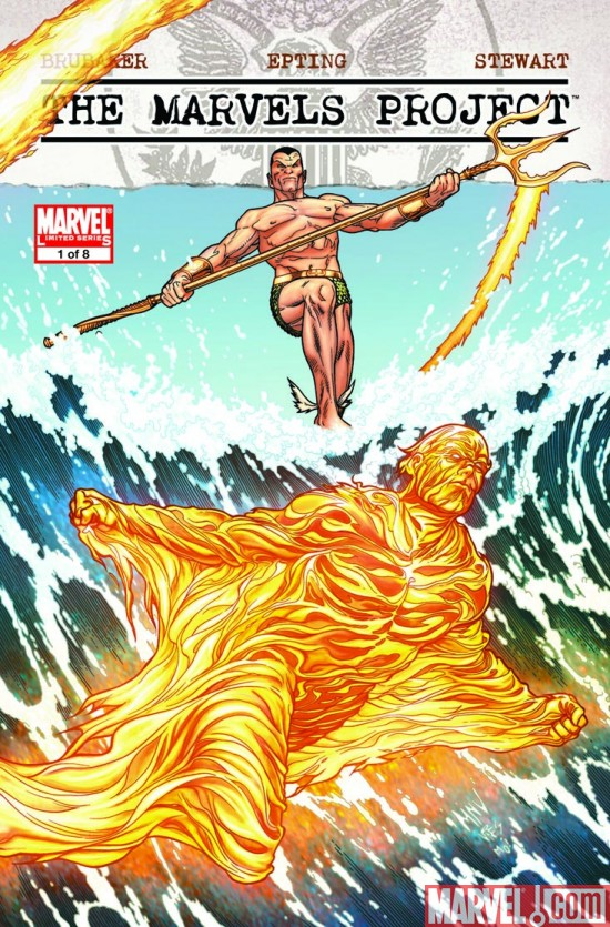 TheMarvelsProject_01_McNiven Buy The Marvels Project #1 Today