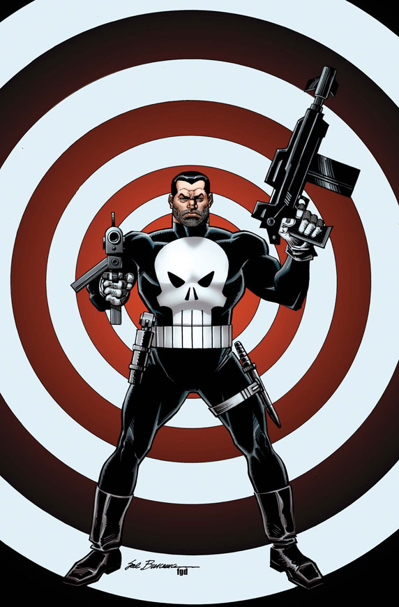 ThePunisher_1_CoverVariantSB First Look at THE PUNISHER #1