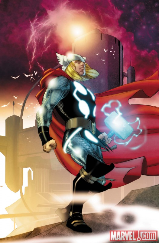 Thor_615_Cover Matt Fraction and Pasqual Ferry join THOR this September