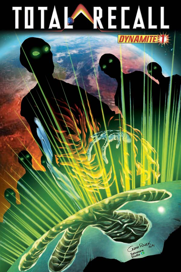 TotalRecall01-Cov-Razek TOTAL RECALL #1 hits stores this May