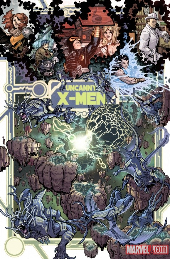 UNCANNYXMENANNUAL_3_PREVIEW1 Steve Rogers, The X-Men and Namor Must ESCAPE FROM THE NEGATIVE ZONE