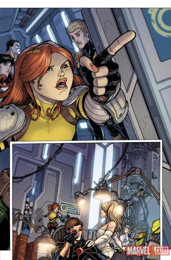 UNCANNYXMENANNUAL_3_PREVIEW2 Steve Rogers, The X-Men and Namor Must ESCAPE FROM THE NEGATIVE ZONE