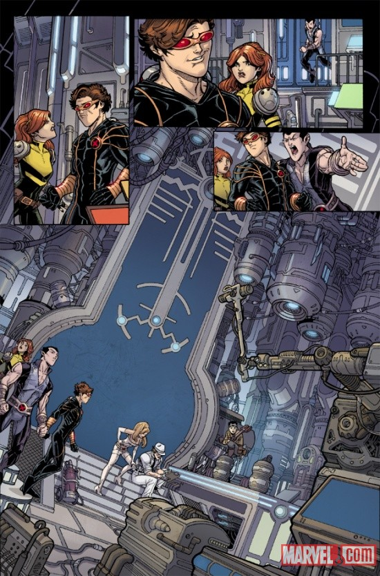 UNCANNYXMENANNUAL_3_PREVIEW3 Steve Rogers, The X-Men and Namor Must ESCAPE FROM THE NEGATIVE ZONE