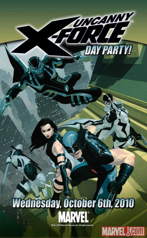 UXFORCE_1_Invite Marvel Announces UNCANNY X-FORCE DAY