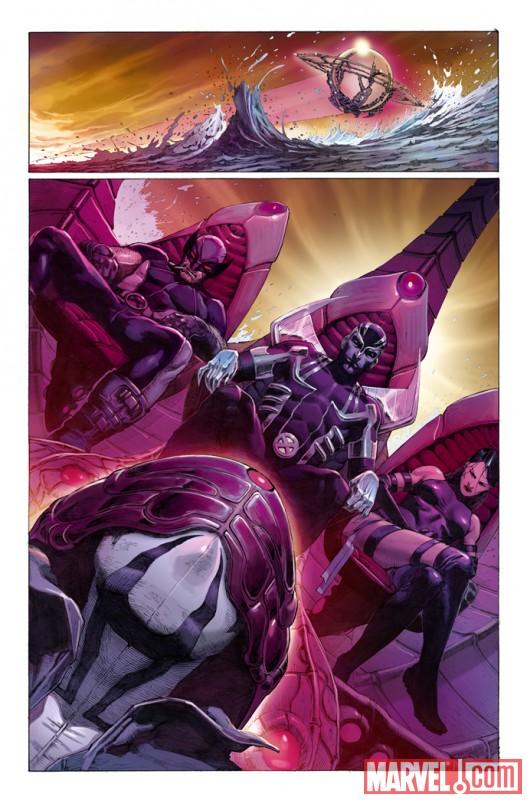 UXFORCE_1_Preview3 Marvel Announces UNCANNY X-FORCE DAY