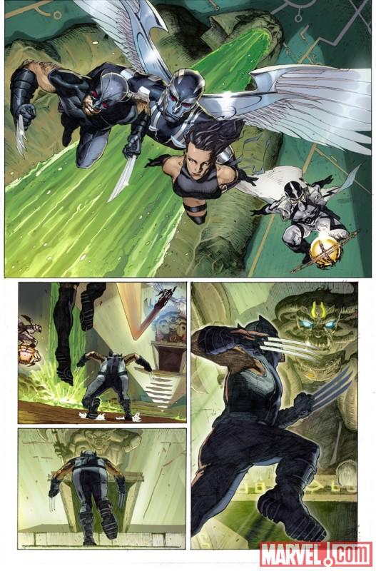 UXFORCE_1_Preview4 Marvel Announces UNCANNY X-FORCE DAY