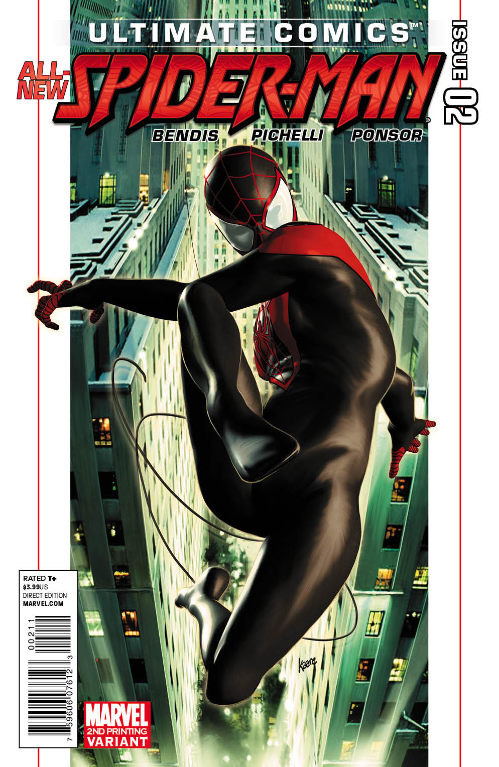 UltimateComicsSpiderMan_2_Second Two second issue Ultimate Comics earn second printings