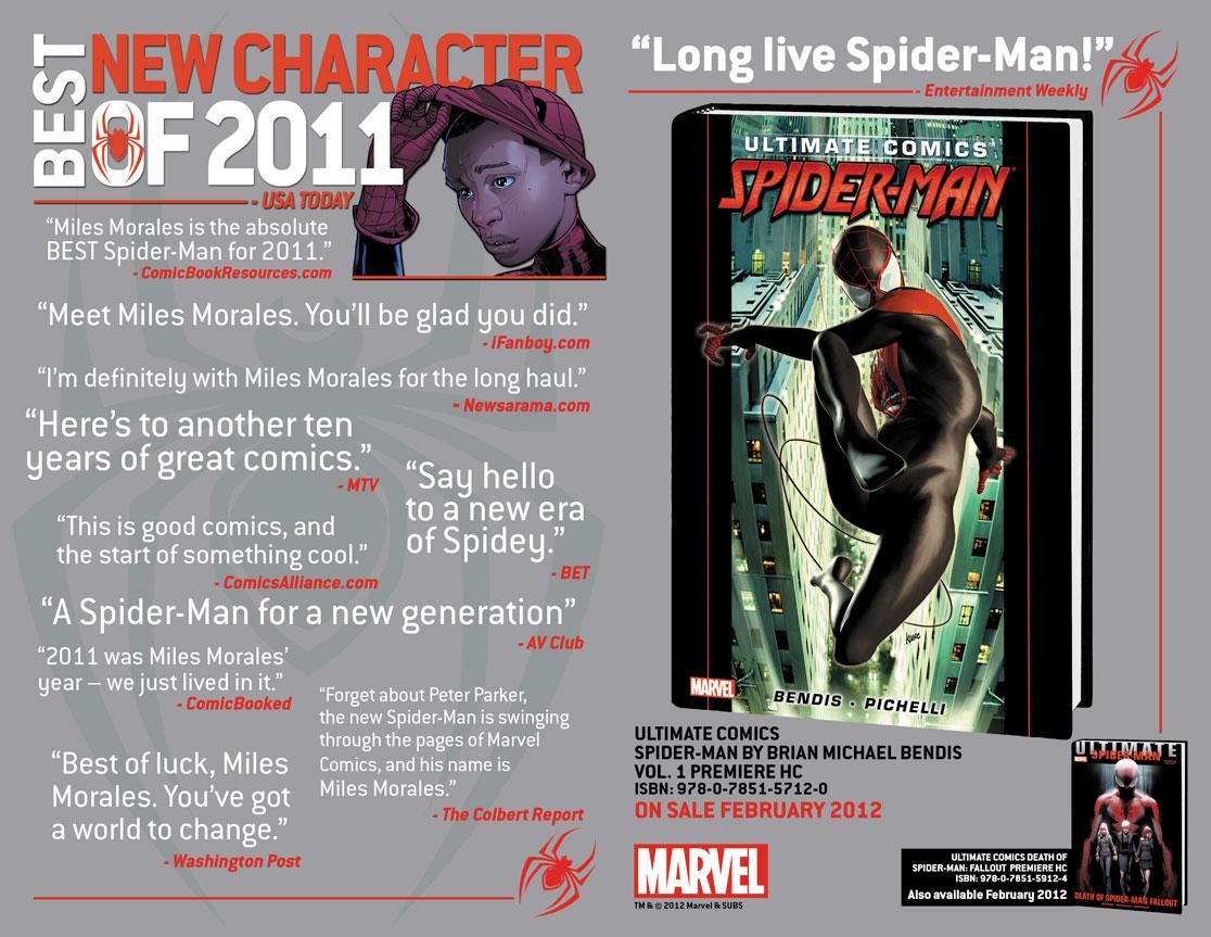 UltimateComicsSpiderMan_BestNewCharacterOf2011 First Look at ULTIMATE COMICS SPIDER-MAN #7