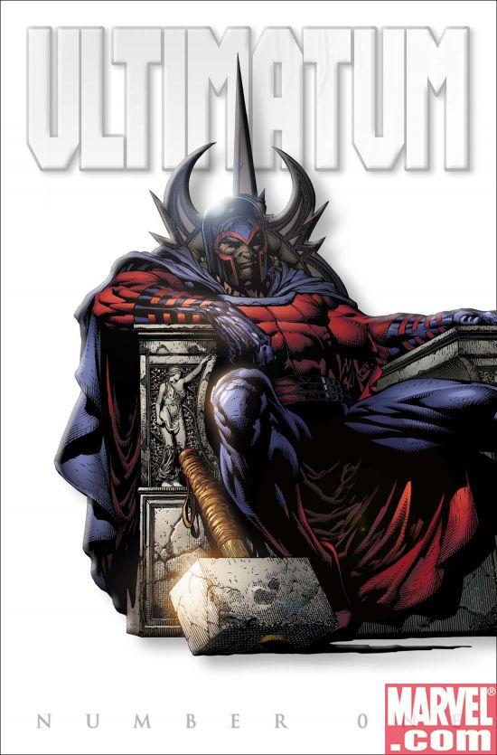Ultimatum_01_WhiteVariant Marvel Unveils ULTIMATUM #1 WHITE VARIANT Cover