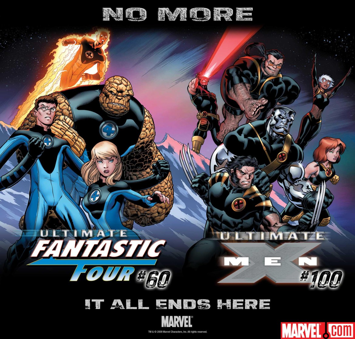Ultimatum_NoMore_UltimateFFUltimateXMen The Ultimate X-Men and Ultimate Fantastic Four Are No More