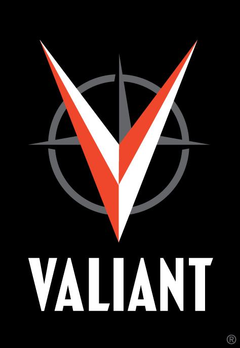VALIANT_logoNEW Valiant Entertainment reinterprets their logo