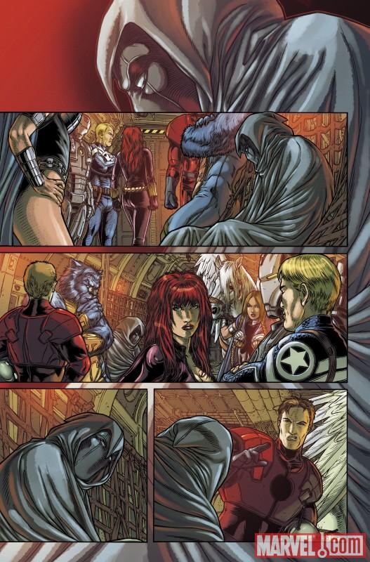 VOTMK_10_Preview1 Moon Knight Joins The Secret Avengers