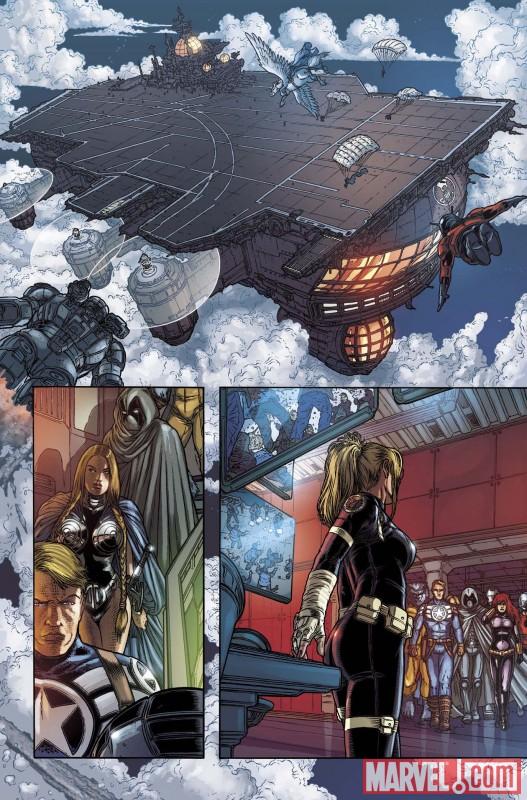 VOTMK_10_Preview3 Moon Knight Joins The Secret Avengers