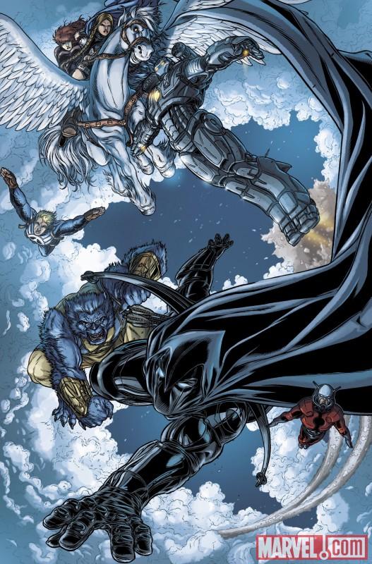 VOTMK_10_Preview4 Moon Knight Joins The Secret Avengers