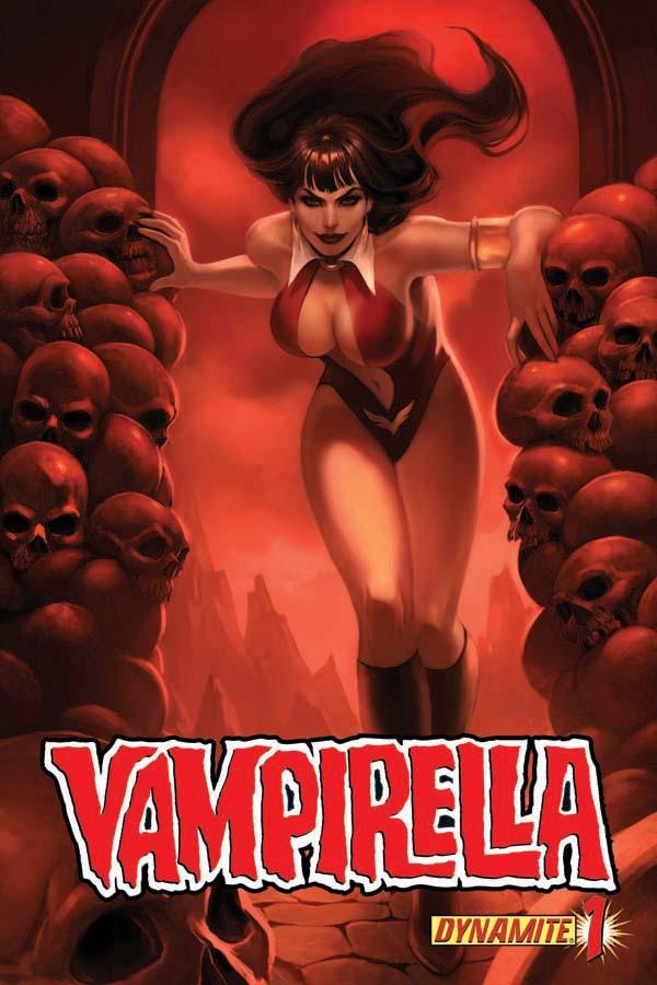 Vampi01-cov-Djurdjevic Dynamite Presents A First Look At VAMPIRELLA #1