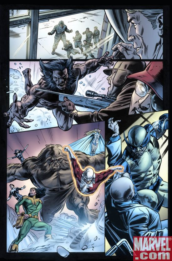 WOLV33_3 Wolverine Origins #33 Preview