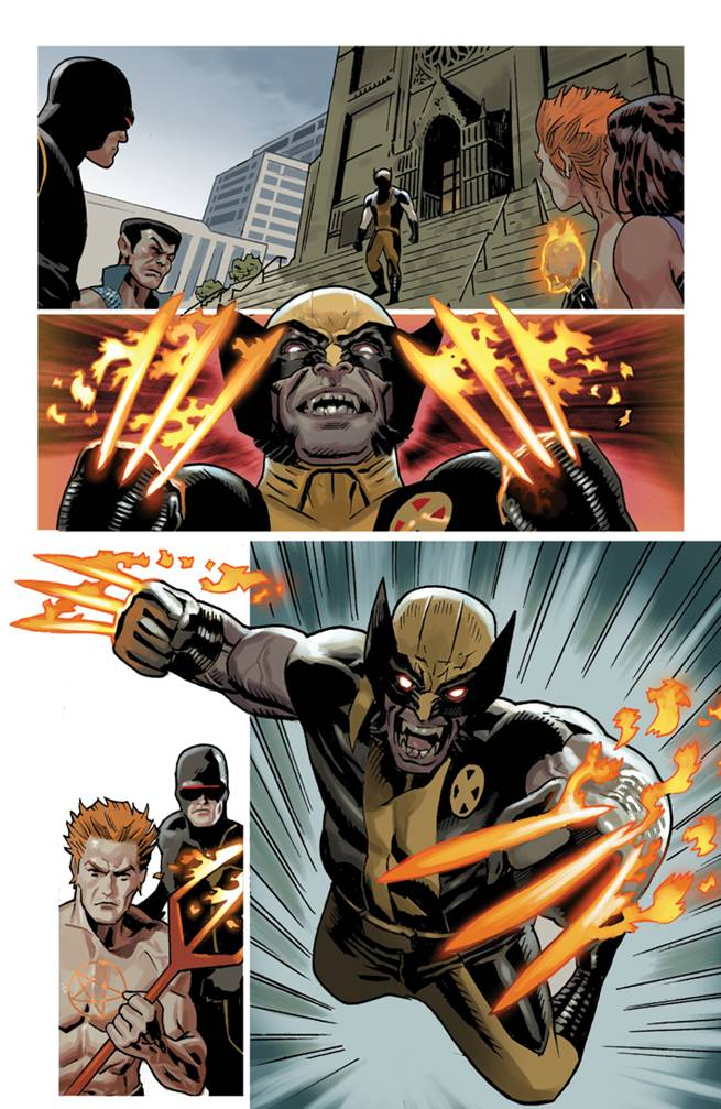WOLVERINE_6_PREVIEW3 First Look at WOLVERINE #6