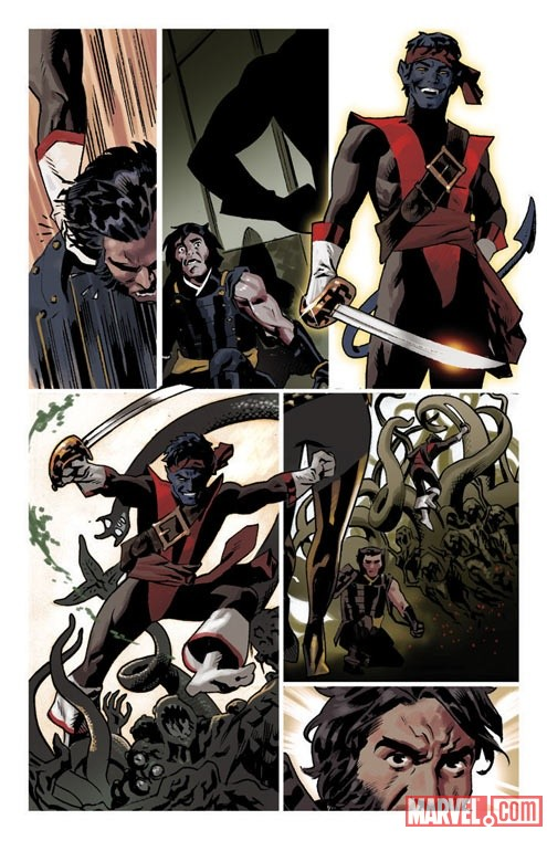 WOLVERINE_8_Preview4 First Look At WOLVERINE #8