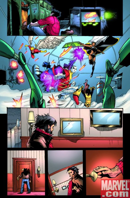 WeaponX_FC_01_Preview7 Weapon X First Class #1 Preview