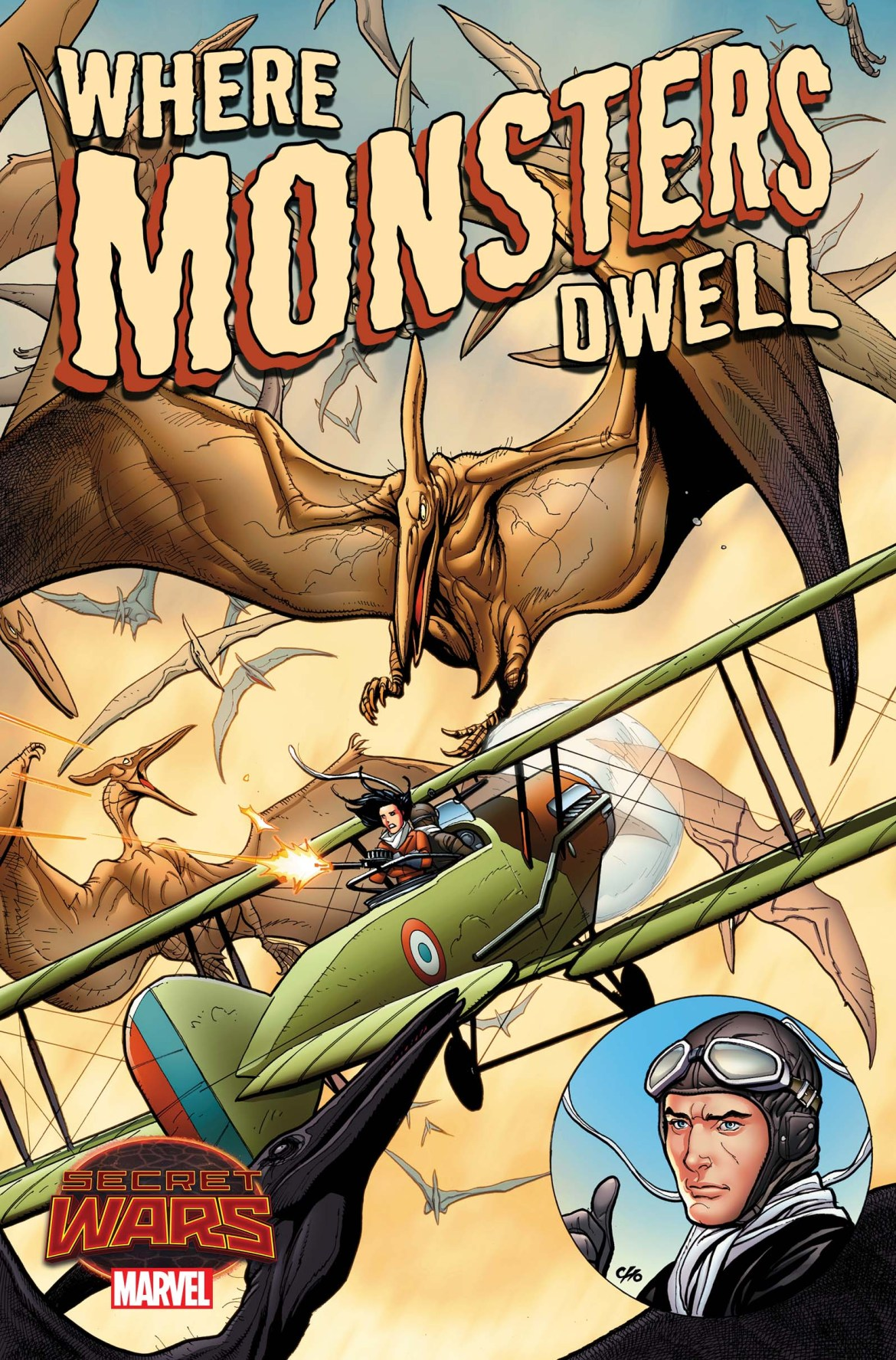 Where_Monsters_Dwell_1_Cover SECRET WARS will reveal WHERE MONSTERS DWELL