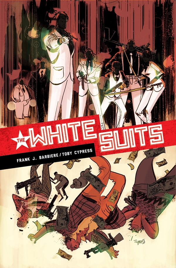 White-Suits FIVE GHOSTS' Frank Barbiere brings two new series to Dark Horse